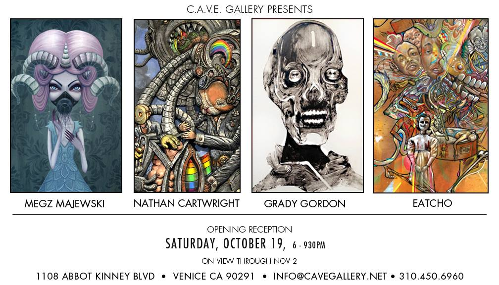October Exhibit at THE CAVE gallery